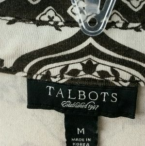 Talbots Tops - Last chance donated soon- Brown/Tan Career Top MD